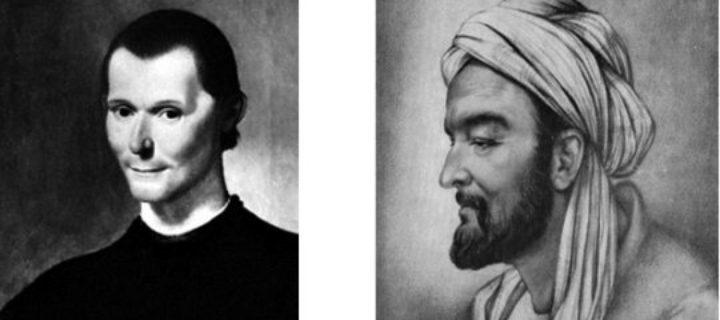 ابن خلدون ومكيافيللي مقارنة بين علمين في علمي التاريخ