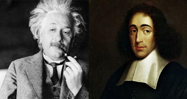 فيزياء آينشتاين اسبينوزا