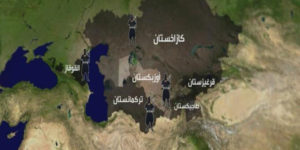 الطرق في آسيا الوسطى – ألكسندر بنغسين