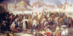 حقبة الحروب الصليبية والوضع على طرفي المجابهة التاريخية – شمس الدين الكيلاني