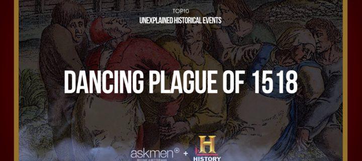 ما هو الطاعون الراقص لعام 1518؟