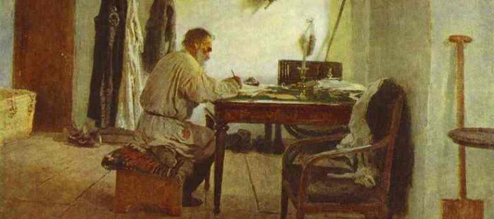 ليون تولستوي – فلاديمير لينين
