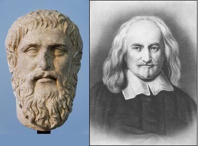 ليفيثان أفلاطون ونقد هوبز الحب
